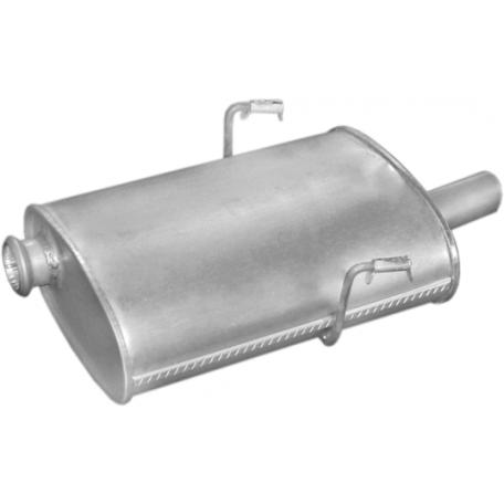 Глушитель Пежо 406 (Peugeot 406) 2.0i 16V SDN kat 95-97 (19.103) Polmostrow алюминизированный