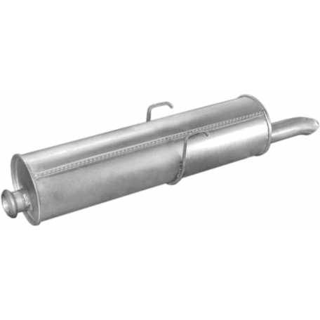 Глушитель Пежо 405 (Peugeot 405) 1.9i/MI16 87-92 (19.14) Polmostrow алюминизированный