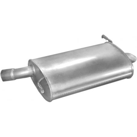 Глушитель Пежо 605 (Peugeot 605) 2.1TD 90-00 (19.155) Polmostrow алюминизированный