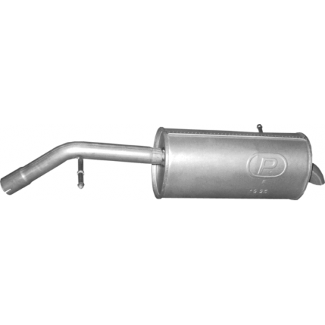 Глушитель Пежо 207 (Peugeot 207) 1.4D Hatchback 06-08 (19.183) Polmostrow алюминизированный