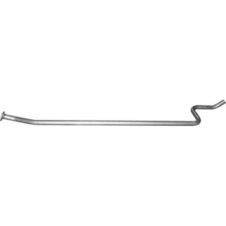 Труба средняя Пежо 207 (Peugeot 207) 1.4 06-08 (19.187) Polmostrow алюминизированный
