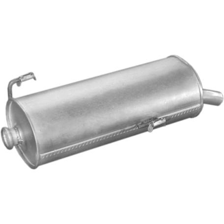 Глушитель Пежо 206 (Peugeot 206) 1.9D 98- (19.199) Polmostrow алюминизированный