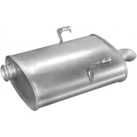 Глушитель Пежо 406 (Peugeot 406) 2.0HDi TD SDN 00- (19.200) Polmostrow алюминизированный