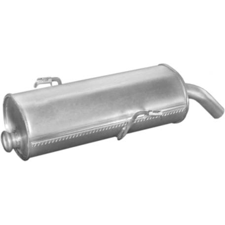 Глушитель Пежо 206 (Peugeot 206)1.4i ; 1.6i-16V 00- (19.207) Polmostrow алюминизированный