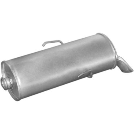 Глушитель Пежо 106 (Peugeot 106) 1.0; 1.1 91-92 (19.21) Polmostrow алюминизированный