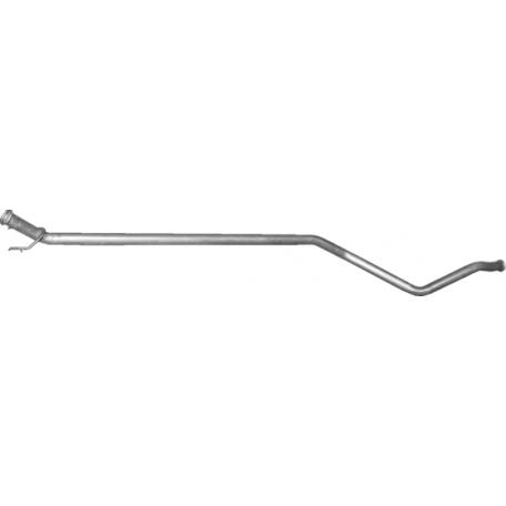 Глушитель Пежо 307 (Peugeot 307) 1.4 HDi TD 02-04 (19.219) Polmostrow алюминизированный