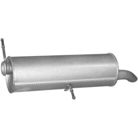 Глушитель Пежо 307 (Peugeot 307) 1.6/2.0 HDi kombi 02-07 (19.223) Polmostrow алюминизированный