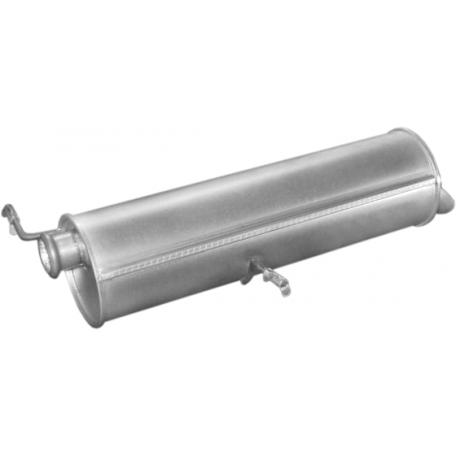Глушитель Пежо 307 (Peugeot 307) 1.6/2.0 HDi hatchback 01-07 (19.226) Polmostrow алюминизированный