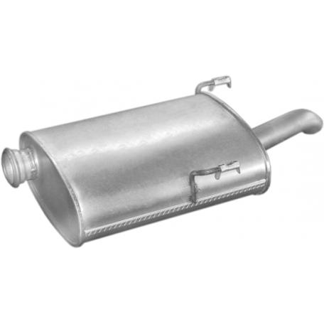 Глушитель Пежо 406 (Peugeot 406) 1.9 TD; 2.1TD kombi 96 -98 (19.227) Polmostrow алюминизированный
