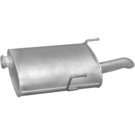 Глушитель Пежо 406 (Peugeot 406) 2.0/2.2 HDi TD kombi 06/98-04 (19.232) Polmostrow алюминизированный