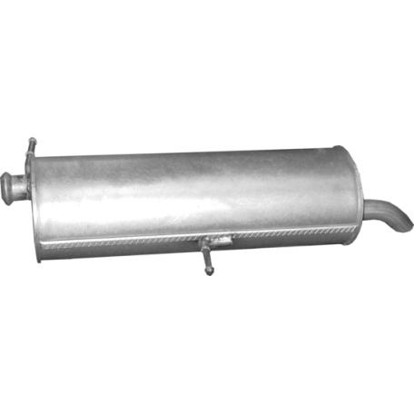 Глушитель Пежо (Peugeot) 307 1.4 Kombi/2003 - 0/2008 (19.28) Polmostrow алюминизированный