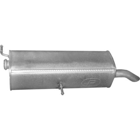 Глушитель Пежо 3008 (Peugeot 3008) 1.6 HDi 09 - 11 (19.31) Polmostrow алюминизированный