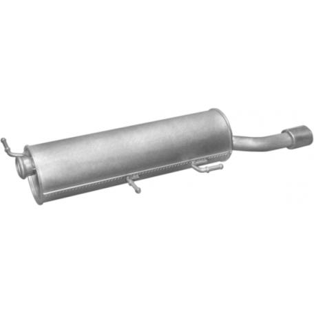 Глушитель Пежо 307 (Peugeot 307) CC 2.0i -16V 03- (19.366) Polmostrow алюминизированный