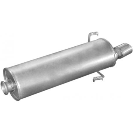 Глушитель Пежо 306 (Peugeot 306) 1.4; 1.6; 1.8;1.8D 1.9D HB 93-97 (19.59) Polmostrow алюминизированный