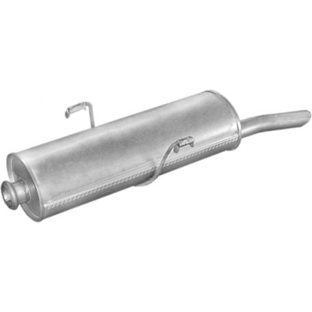 Глушитель Пежо 306 (Peugeot 306)1.4-1.8 SDN kat 94- (19.61) Polmostrow алюминизированный