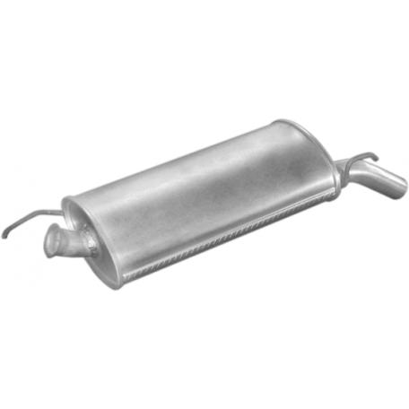 Глушитель Рено Р5 (Renault R5) 1.0-1.4; 1.6D 87-96 (21.01) Polmostrow алюминизированный