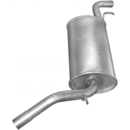 Глушитель Сеат Марбелла (Seat Marbella) 87-92 903ccm (23.02) Polmostrow алюминизированный