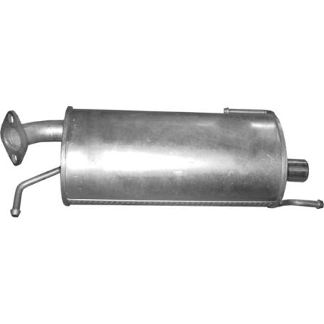 Глушитель Сузуки Сплеш (Suzuki Splash) / Опель Агила Б (Opel Agila B) 1.0 / 1.2, 08 - 10 (25.18) Polmostrow алюминизированный