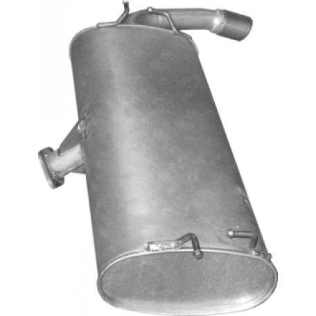 Глушитель Сузуки Гранд Витара (Suzuki Grand Vitara) 2.4i 01/09- (25.29) Polmostrow алюминизированный