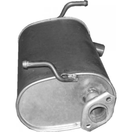 Глушитель Сузуки Джимни (Suzuki Jimny) 1.2 06-09 (25.55) Polmostrow алюминизированный