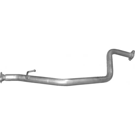 Труба средняя Сузуки Джмми (Suzuki Jimny) 1.3 00- (25.59) Polmostrow алюминизированный