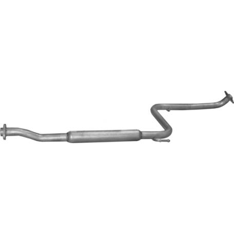 Труба средняя Тойота Селика (Toyota Celica) (26.05) 1.6 89-93 Polmostrow алюминизированный