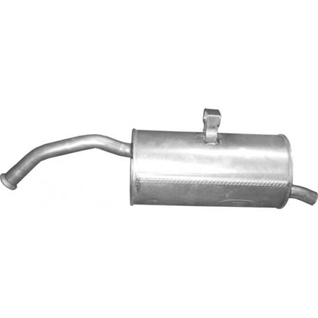 Глушитель Тойота Старлет (Toyota Starlet) 1.3 96-99 (26.16) Polmostrow алюминизированный