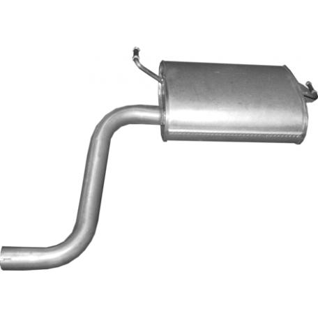 Глушитель Тойота Авенсис (Toyota Avensis) 1.6/1.8/2.0 09- (26.75) Polmostrow алюминизированный