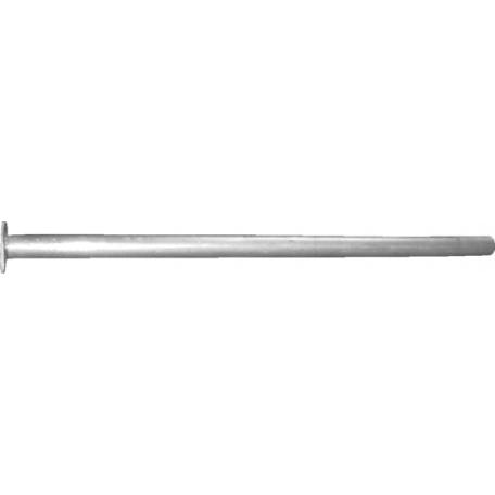 Труба средняя Фольксваген Гольф V (Volkswagen Golf V) 05-08 (30.151) Polmostrow алюминизированный
