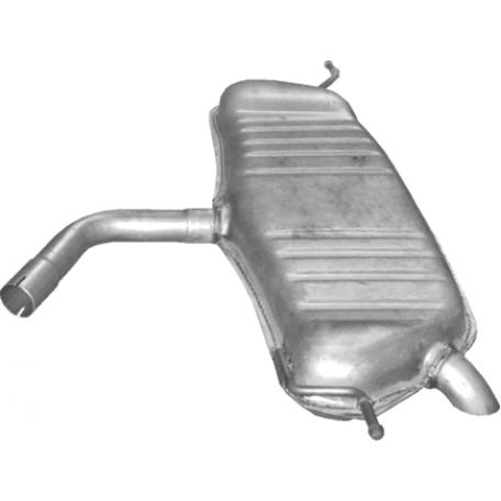 Глушитель Фольксваген Туран (Volkswagen Touran) 1.6 03-08 (30.154) Polmostrow алюминизированный
