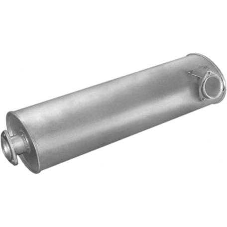 Глушитель Фольксваген ЛТ (Volkswagen LT) 92-96 2.4TD (30.231) Polmostrow алюминизированный