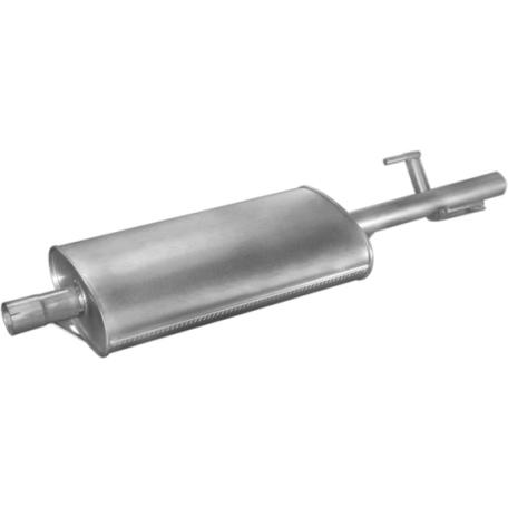 Глушитель Фольксваген ЛТ96- 2.5SDi/2.5TDi/2.8TDi Мерседес Спринтер 2.9 TD (30.232)Polmostrow алюминизированный