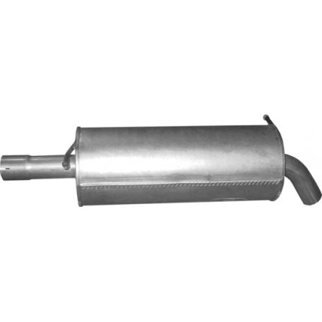 Резонатор (средний глушитель) Фольксваген Поло (Volkswagen Polo) 1.0-1.3 75-81 (30.63) Polmostrow алюминизированный