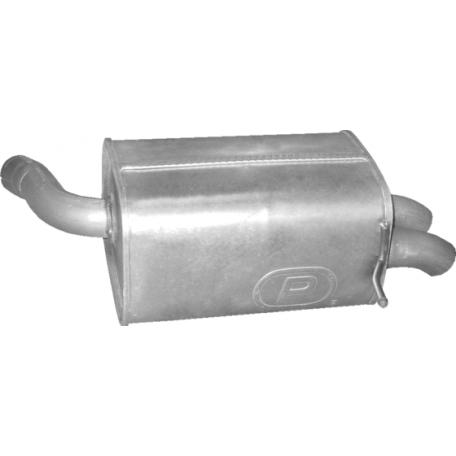 Глушитель Вольво XC90 (Volvo XC90) (31.06) 2.4D 03-14 Polmostrow алюминизированный
