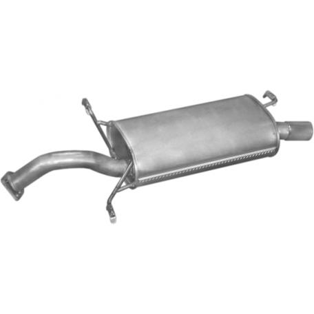 Глушитель Вольво С40/В40 (Volvo S40/V40) (31.251) 1.6i 1.8i -16V 1.9 Turbo Diesel 96 -01 Polmostrow алюминизированный