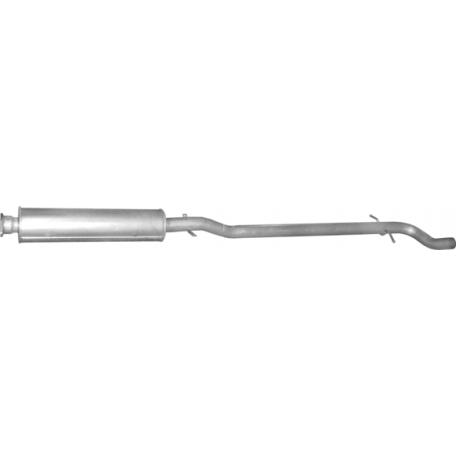 Резонатор Вольво В70 (Volvo V70) (31.266) 2.4  01-07 Polmostrow алюминизированный