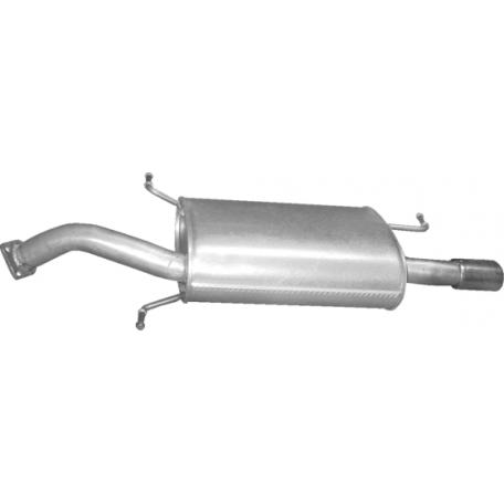 Глушитель Вольво В40 (Volvo V40) (31.97) 1.6/1.8/1.9 00-04 Polmostrow алюминизированный