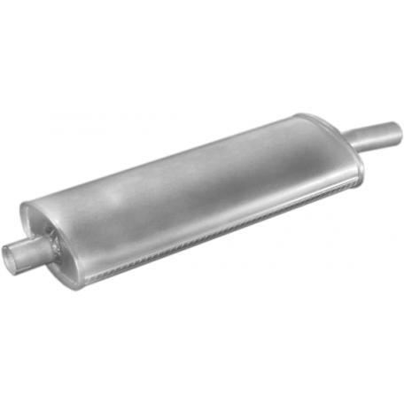 Резонатор Фиат 128 (Fiat 128) / Застава 1100 (Zastawa 1100) 69-86 (33.01) Polmostrow алюминизированный