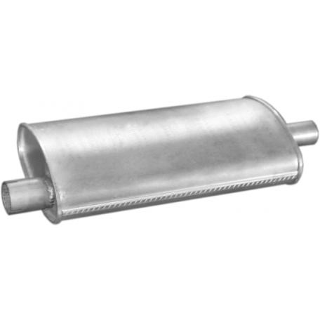Резонатор Крайслер Вояджер (Chrysler Voyager) 2.5i 89-95 9 (45.26) Polmostrow алюминизированный