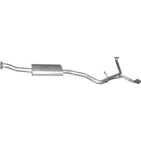 Резонатор Субару Форестер 4x4 2.0 D (Subaru Forester 4x4 2.0 D) (46.18) 08-13 Polmostrow алюминизированный