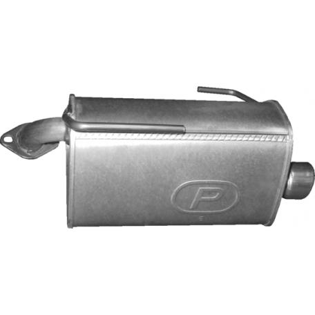 Глушитель Субару Форестер 4x4 2.0 D/Субару Аутбек 2.5 2010 р. (46.23) 08-13 Polmostrow алюминизированный