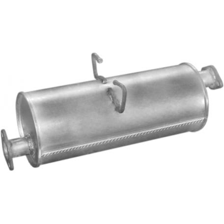 Глушитель Киа К2700 (Kia K2700) 2.7D (47.01) Polmostrow алюминизированный