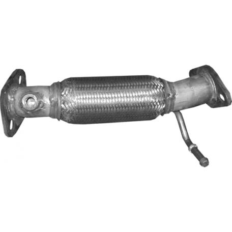 Труба приемная Киа Сид (Kia Ceed) 1.4/1.6 09-12 (47.79) Polmostrow алюминизированный