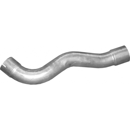 Труба средняя Mersedes Atego/Axor 97- (69.302) Polmostrow алюминизированный